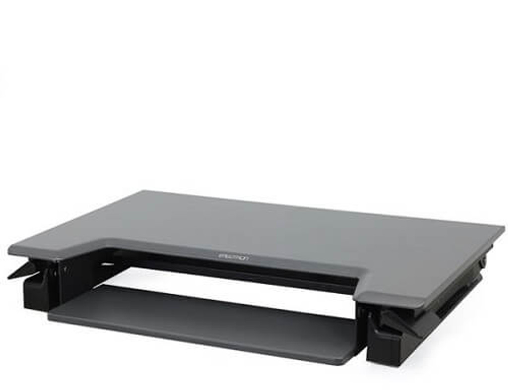WorkFit-T/TL Sit-Stand Desktop Workstation folded view