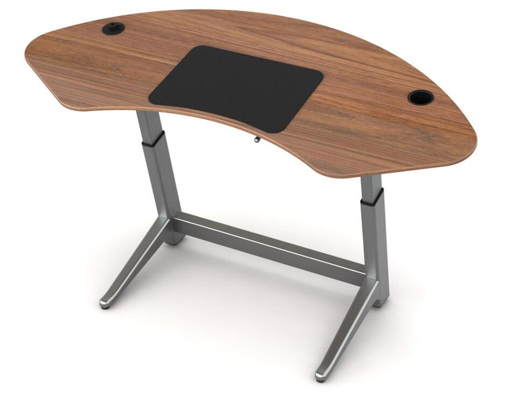 Sphere desk in black walnut