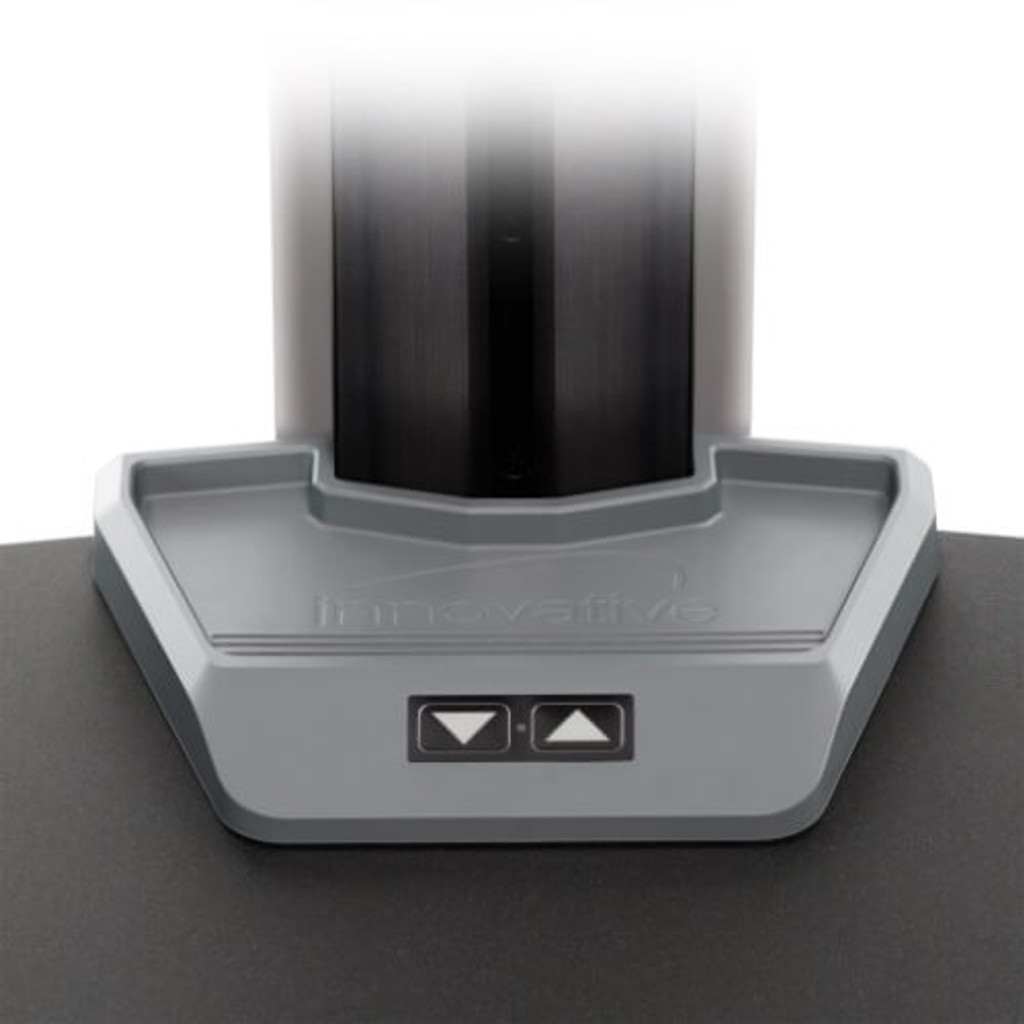 Winston-E Sit-Stand Workstation one touch power height adjustment