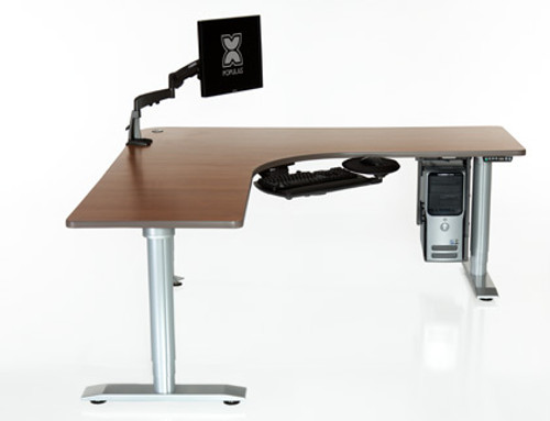Vox Corner & L-Shape Height Adjustable Workstation