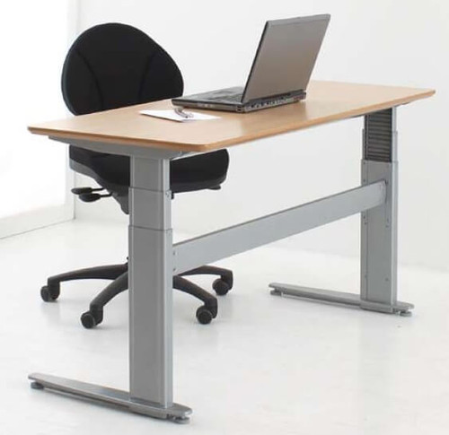 501-27 Electric Height Adjustable 2-Leg Desk