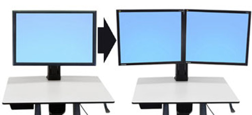 WorkFit Conversion Kit: Single HD to Dual