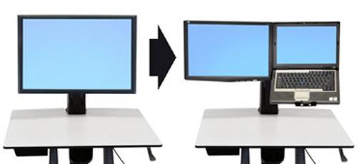 WorkFit Conversion Kit: Single HD to LCD & Laptop