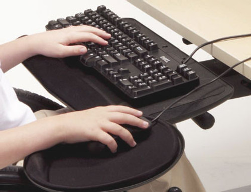 Full Articulating Keyboard Tray and Mouse Platform (AFS-AKA2)