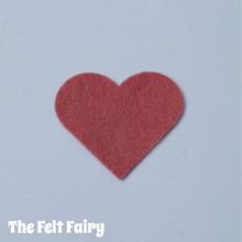 Vintage Rose Felt Square - Wool Blend Felt **Discontinued - Limited Stock**