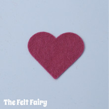 Raspberry Crush Felt Square - Wool Blend Felt **Discontinued - Limited Stock**