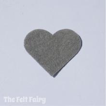 Gun Metal Felt Square - Wool Blend Felt **Discontinued - Limited Stock**