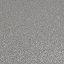 Silver Glitter Felt - 23cm x 30cm
