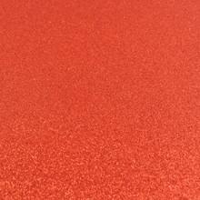 Red Glitter Felt - 23cm x 30cm