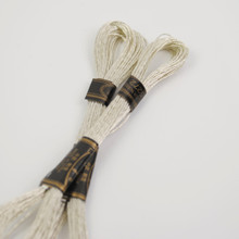 Metallic Silver Embroidery Thread - 8 metre skein