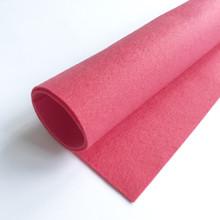 Raspberry Smoothie - Polyester Felt Sheet