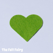 Spring Green Felt Square - Wool Blend Felt **Discontinued - Limited Stock**