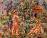 Pierre Auguste Renoir - Girls in a Landscape