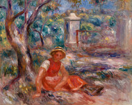 Pierre Auguste Renoir - Girl at the foot of a Tree