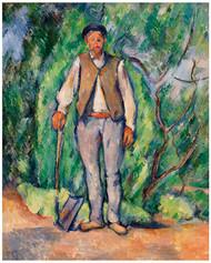 Paul Cezanne - Gardener