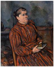 Paul Cezanne - Portrait of a Woman
