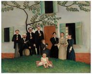 Henri Rousseau - The Family