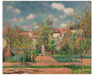 Camille Pissarro - Garden in Full Sunlight
