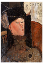 Amedeo Modigliani Print - Beatrice