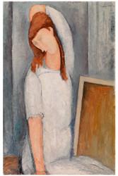 Amedeo Modigliani Print - Jeane Hebuterne
