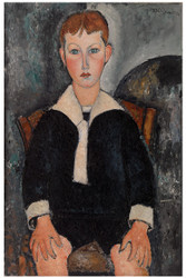 Amedeo Modigliani Print - Boy in Sailor Suit