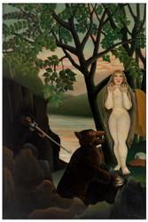 Henri Rousseau - Unpleasant Surprise