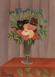 Henri Rousseau - Bouqeut of Flowers