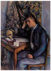 Paul Cezanne - Young Man