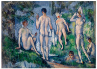 Paul Cezanne - Group of Bathers