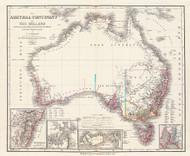 Austral Continent Neu Holland 1855