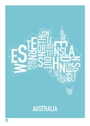 Australia Ocean Blue