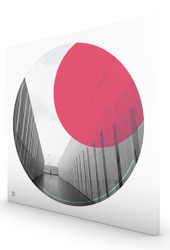 Parliament House ACT Ruby by Burbia Stretched Canvas