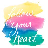 Colorburst II Heart Sq