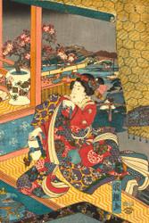Flowers by Utagawa Kuniteru 1850 I