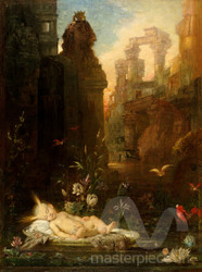 The Infant Moses by Gustave Moreau Premium Giclee Print