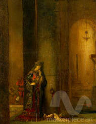 Salome at the Prison by Gustave Moreau Premium Giclee Print