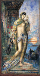 Song of Songs by Gustave Moreau Premium Giclee Print