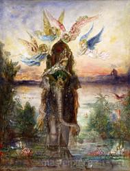 The Sacred Elephant Péri by Gustave Moreau Premium Giclee Print