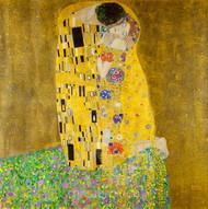 The Kiss by Gustav Klimt Premium Giclee Print
