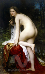 Bather by William-Adolphe Bouguereau Premium Giclee Print