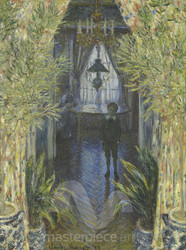 A Corner of the Apartment by Claude Monet Premium Giclee Print