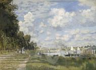 Bassin d'Argenteuil by Claude Monet Premium Giclee Print