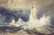 Bell Rock Lighthouse by Joseph Mallord William Turner Premium Giclee Print