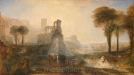 Caligula's Palace and Bridge by Joseph Mallord William Turner Giclee