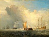 Rotterdam Ferry Boat by Joseph Mallord William Turner Premium Giclee Print