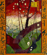 Flowering Plum Tree (after Hiroshige) by Vincent van Gogh