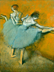 Dancers at the Barre by Edgar Degas Premium Giclee Print