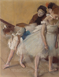 Dance Examination by Edgar Degas Premium Giclee Print