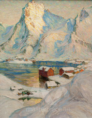 An Arctic Spring Day by Anna Boberg Premium Giclee