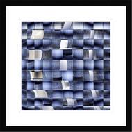 Framed Fractal Chaos by Harry Verschelden
